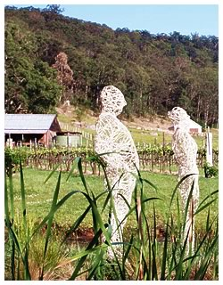 Sculpture in the Vineyards